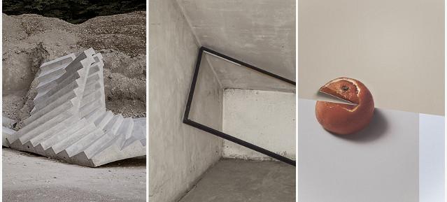 Werke von Delphine Burtin - Foto: © D. Burtin,