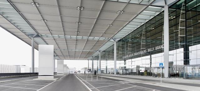 Terminal des Flughafen BER / BBI - Foto: Alexander Obst, Marion Schmieding / Flughafen Berlin Brandenburg GmbH