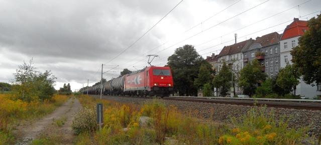 Kesselwagenzug in Pankow
