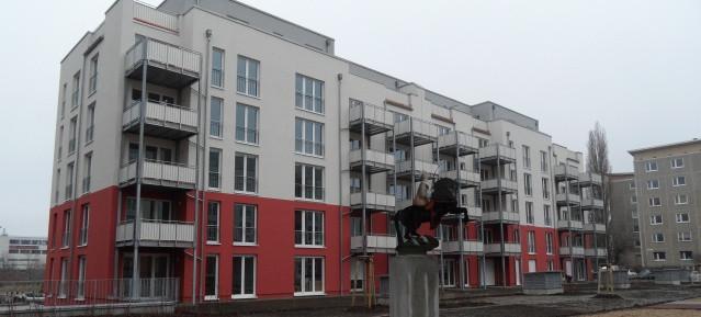 Wohnanlage in der Greta-GarboStrasse in Pankow-Süd