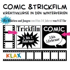 Comic & Trickfilm - KLAX