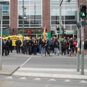 Demonstration am 8.2.2014
