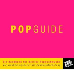 Pop Guide - Musicboard Berlin