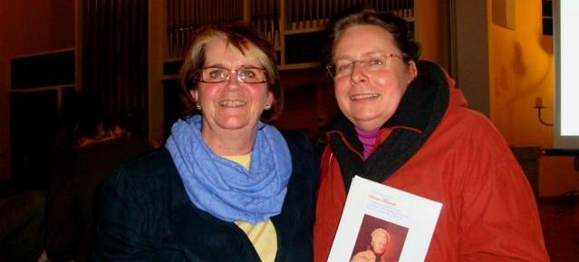 Anne Schaefer-Junker und Elke Blauert