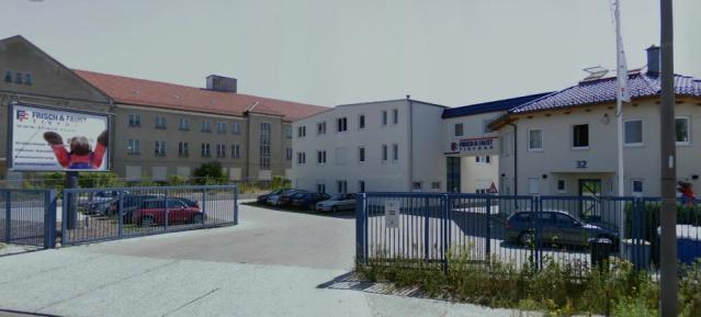 Firmengelände Frisch & Faust Tiefbau GmbH