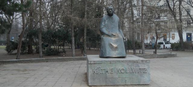 Käthe-Kollwitz-Denkmal am 5.3.2014