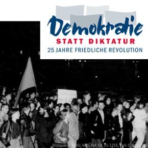 Demokratie statt Diktatur