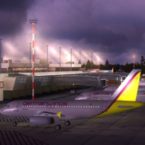 Flughafen BER Flugsimulator