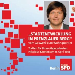 Stadtteiltag mit Nikolaus Karsten (MdA)