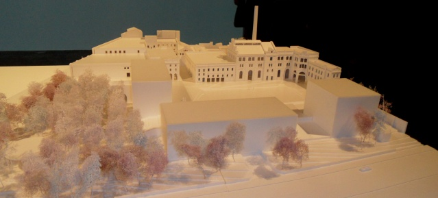 Bötzow Berlin - Modell Chipperfield Architects: