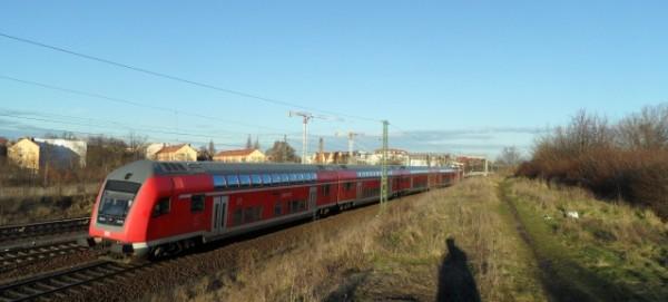 DB-Regionalzug auf der Stettiner Bahn