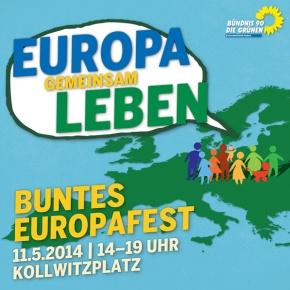 Europafest Kollwitzplatz 11.5.2014