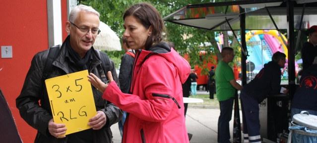 Gelbe Karte für Sandra Scheeres (SPD)