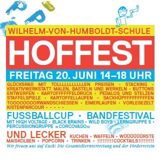 Hoffest Wilhelm von Humboldt-Gemeinschaftsschule