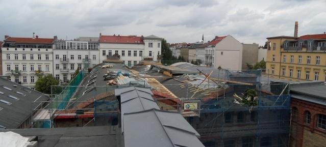 Richtfest: Gewerbehof Königsstadt