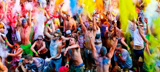 United Colours HOLI OPEN AIR 2014