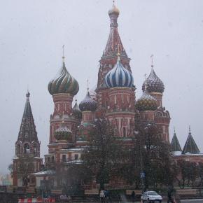 Kreml im Winter