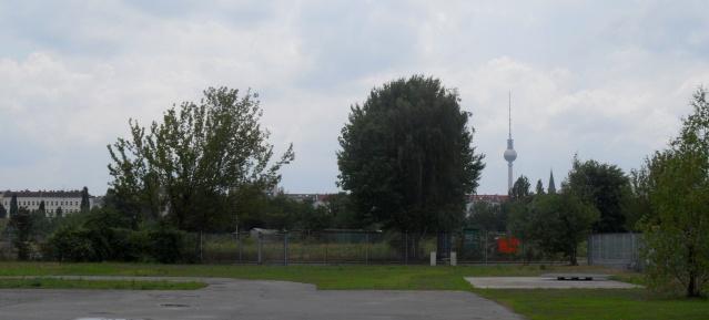 Mauerpark: Blick zum Flohmarkt
