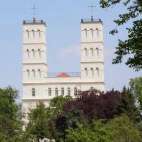 Schinkelkirche in Straupitz/Spreewald