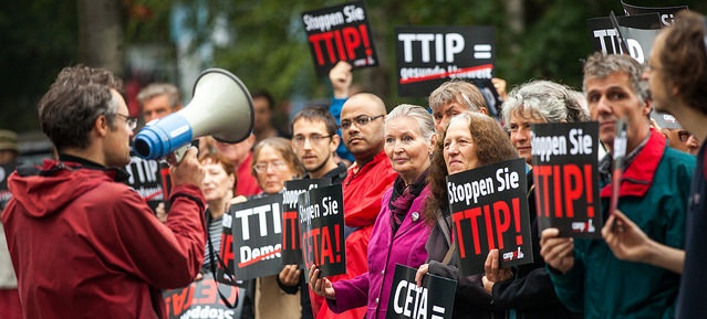 Stoppt TTIP - Demonstration am 14.9.2014