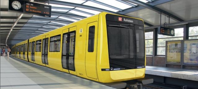 U-Bahn Baureihe IK - Foto: STADLER RAIL AG
