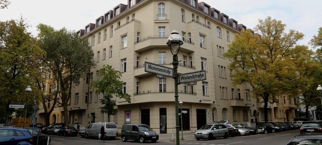 Wieland Palais in Berlin-Charlottenburg