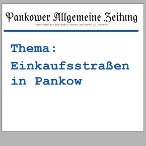 Pankower Allgemeine Zeitung