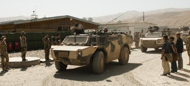 Bundeswehr: Aufbauteam mit Fennek-Panzerspähwagen