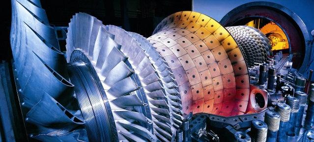Gasturbine Siemens AG Energy Sector