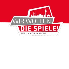 Wir wollen die Spiele! Berlin für Olympia