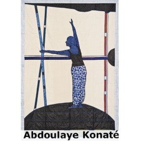 Abdoulaye Konaté, Danse au CAMM/BFK - © Artist, Blain|Southern, Photo: Christian Gläser