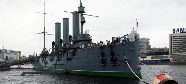 """Kreuzer """"Aurora"""" in St. Petersburg"""
