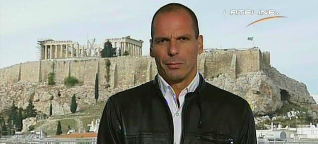 Finanzminister Yanis Varoufakis