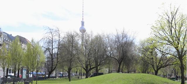 Monbijoupark in Berlin-Mitte