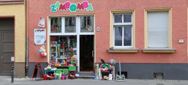 Einzelhandel in der Florastraße