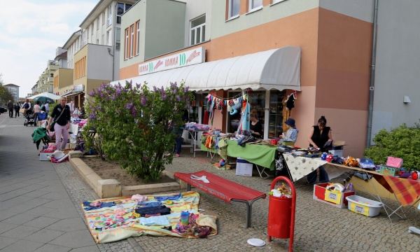 Flohmarkt in Karow am 3.5.2015