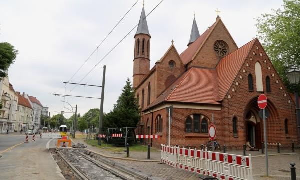 M1 Endstation Pankow-Kirche