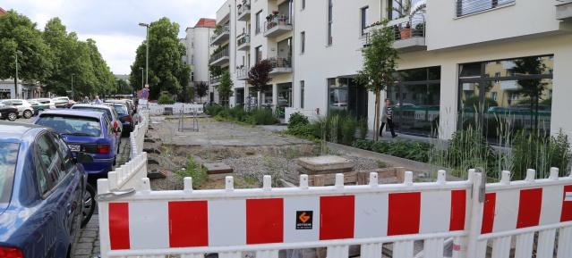 Gehwegsanierung Ossietzkystraße