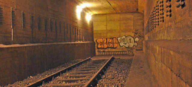 U 10 Tunnelstück nach Weißensee