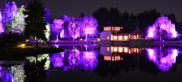 Mondfest in den Gärten der Welt