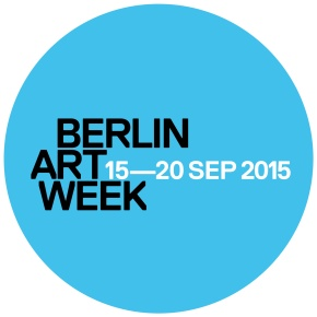 BERLIN ART WEEK 15-20 SEP 2015