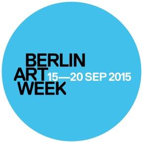 BERLIN ART WEEK 15-20 SEP 2015