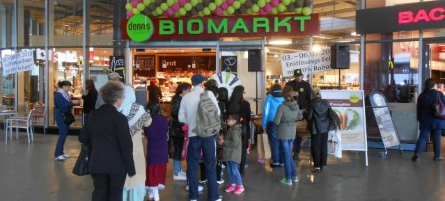 Denns Biomarkt im Bhf. Gesundbrunngen