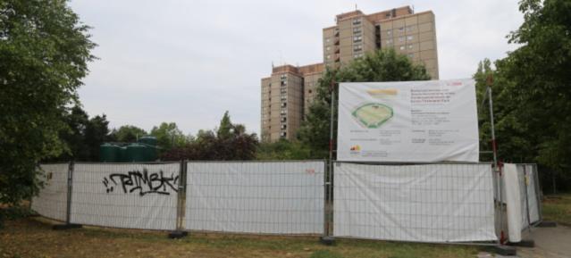 Spielplatzsanierung im Thälmannpark