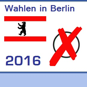 Wahlen in Berlin am 18.9.2016