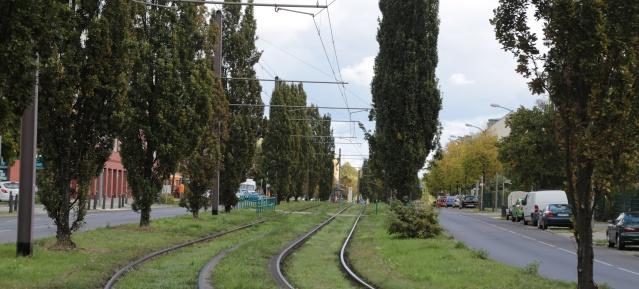 Tramstrecke der Linie 50
