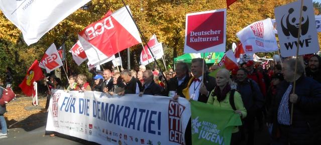 Großdemo gegen TTIP & CETA am 10.10.2015