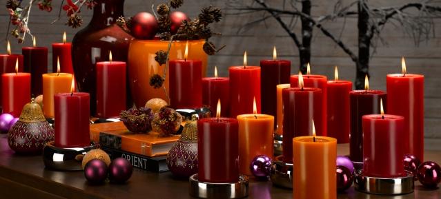 Adventskerzen - Foto: Gütegemeinschaft Kerzenhersteller e.V.