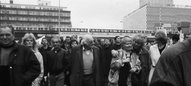 4. November 1989 - Großdemonstration für Freiheit und Menschenrechte