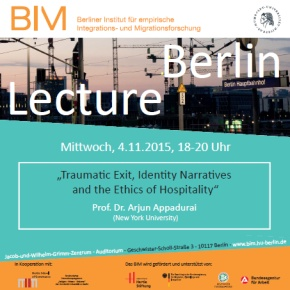 Berlin Lecture 4.11.2015
